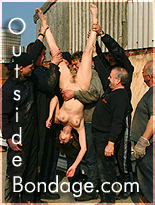 outside bondage outdoor bondage humiliation females humiliated naked in public