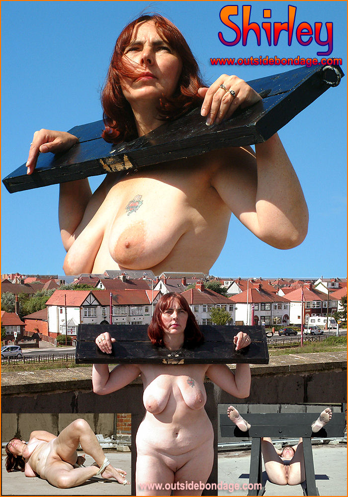 Naked women in bondage